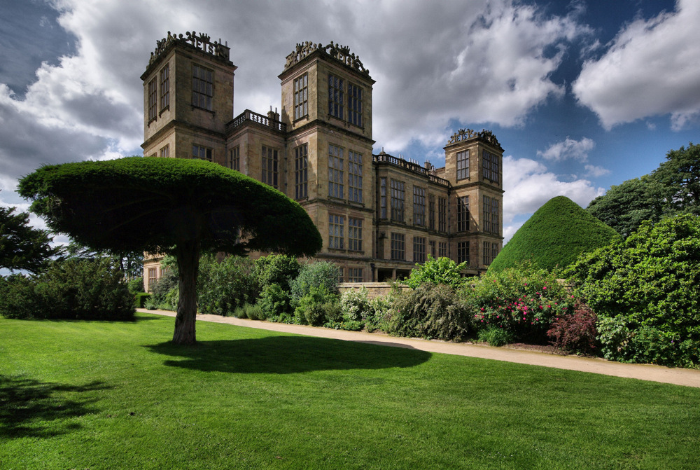 photoblog image Hardwick Hall