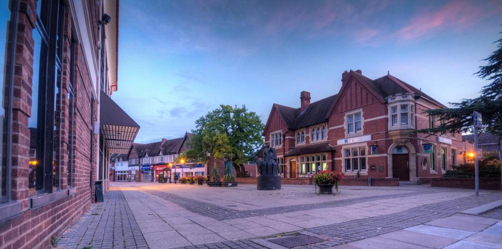 photoblog image Droitwich on  a Sunday Morning 2