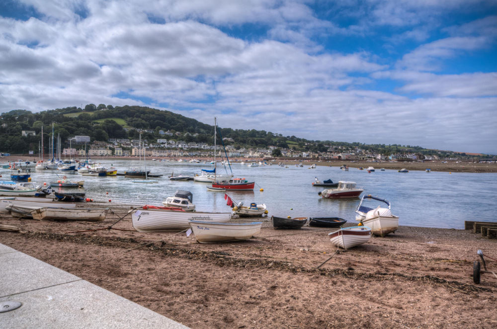 photoblog image Back beach Teignmouth