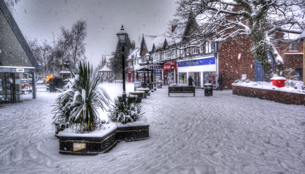 photoblog image Snow in Droitwich from last winter