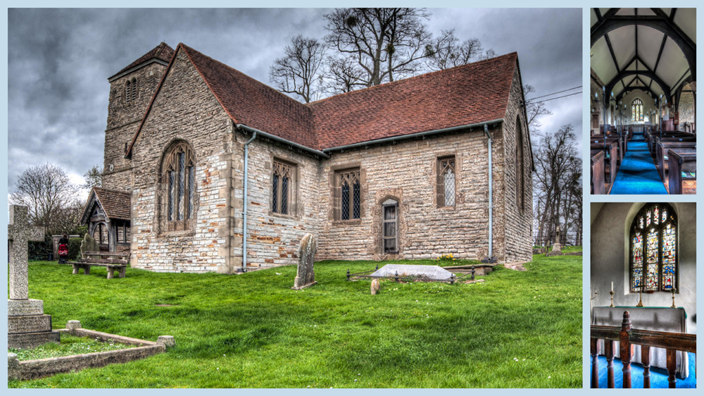 photoblog image Church of St James the Apostle in Oddingley