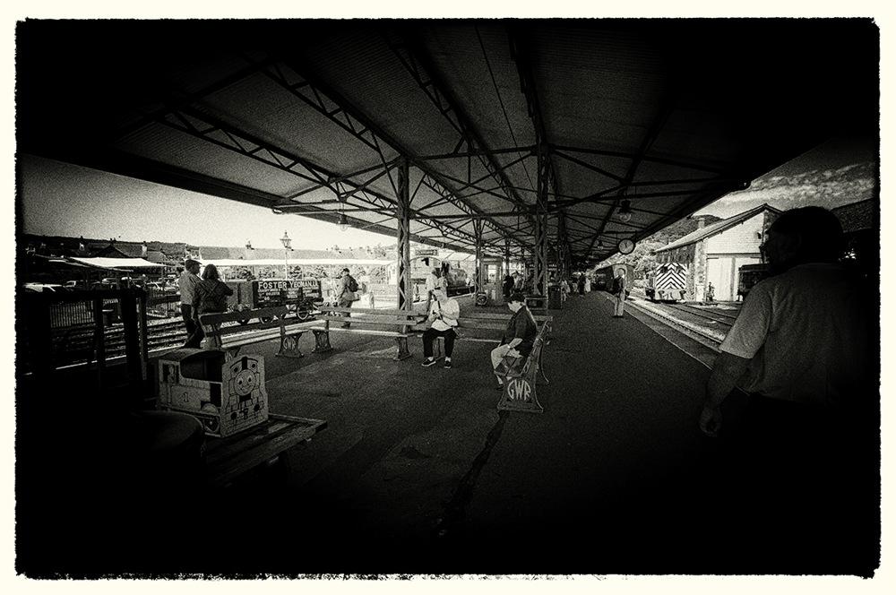 photoblog image Minehead Station