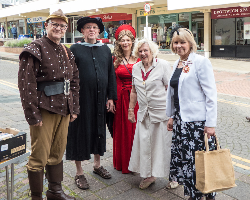 photoblog image Dressing up in Droitwich