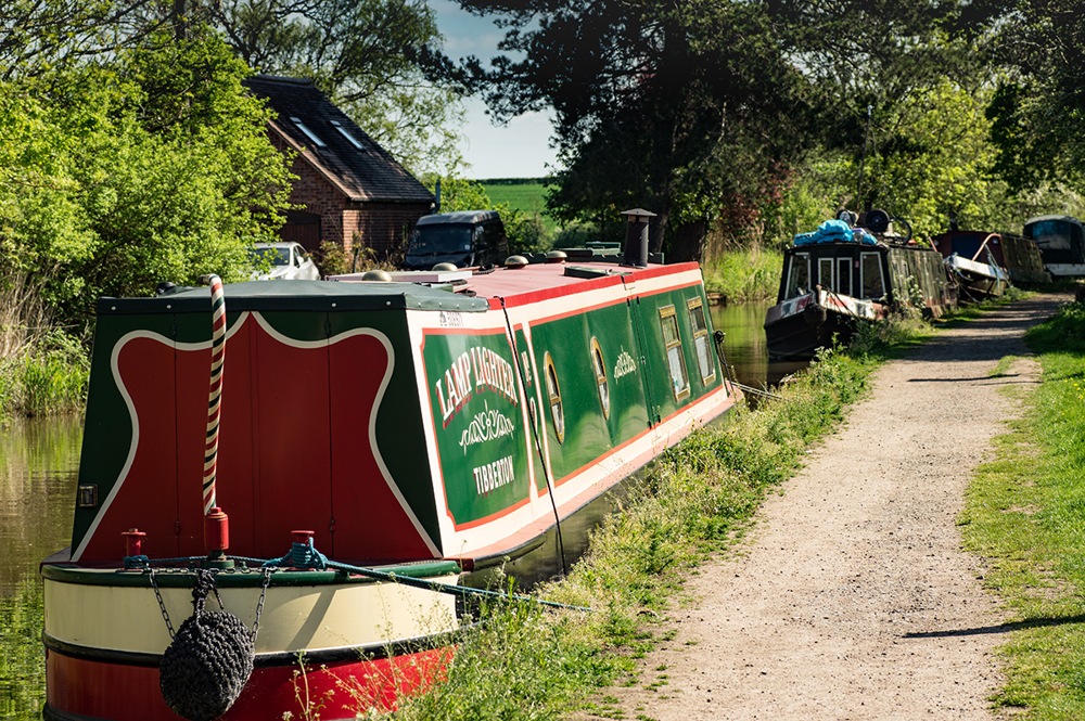 photoblog image The Droitwich canal at Tibberton 1