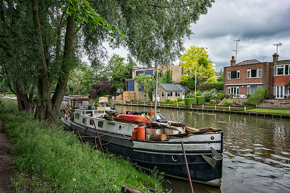 photoblog image A boat in cambridge