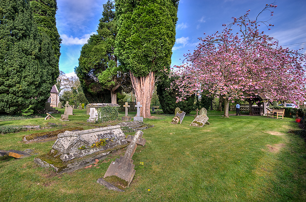 photoblog image Strolling through the churchyard