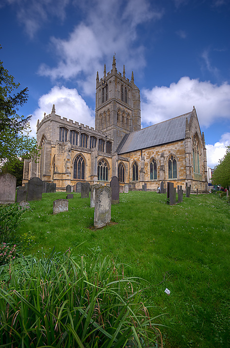 photoblog image St Mary's Church Melton Mowbray