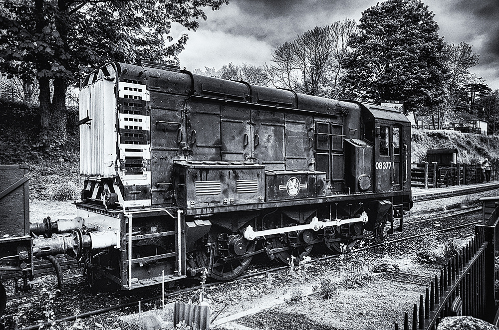 photoblog image On the Watercress line