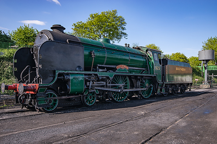 On the Watercress line