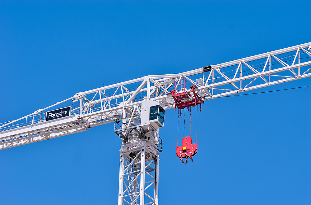 photoblog image Crane Friday