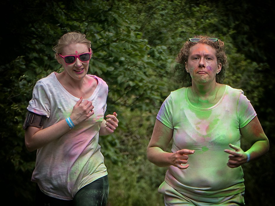 photoblog image Colour Run