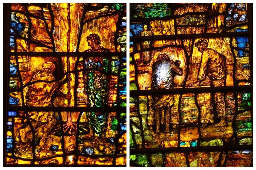 photoblog image Tewkesbury Abbey window