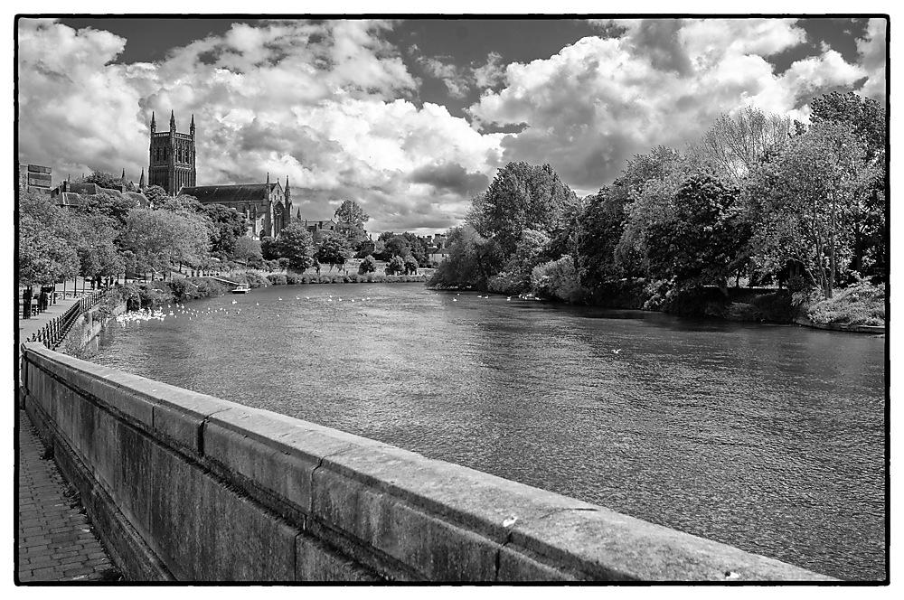 photoblog image Worcester Cathedral